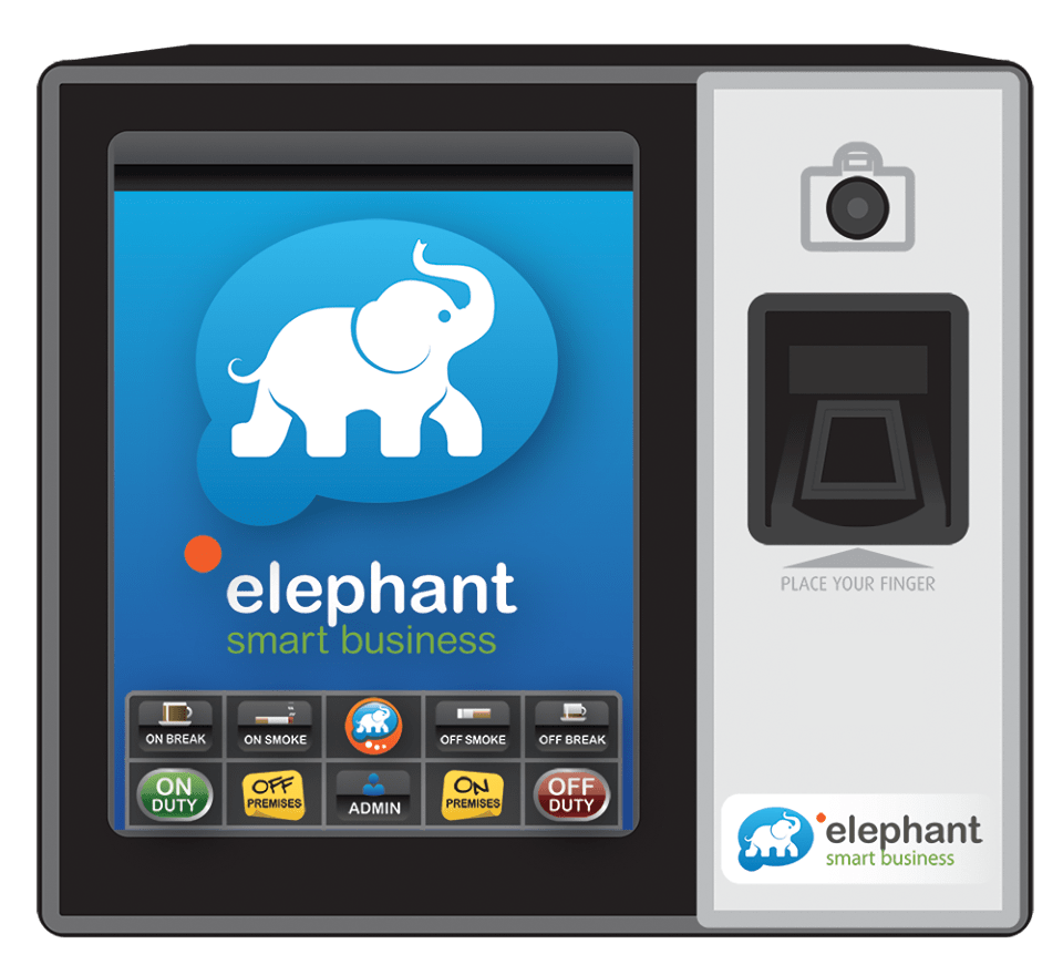 Elephant Smart Business | Live time and attendance software